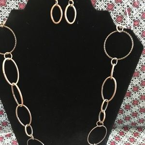 Paparazzi Perfect MISmatch Copper Necklace Set